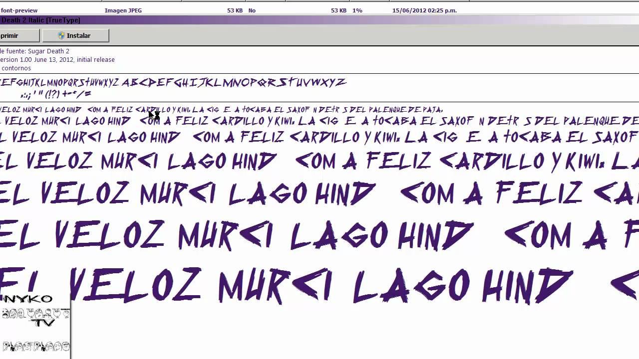 Como descargar tipos de letra para photoshop cs5 youtube for Tipos de estanques para acuicultura