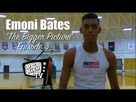 "Emoni Bates ""The Bigger Picture"" Episode 3 - ""Gorilla Season"" 🦍"