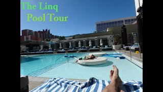 A tour of the pool deck at The Linq Hotel & Casino Las Vegas. I ren...