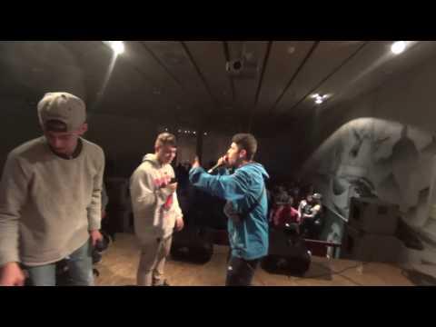 Klayck VS Rober - WINTER URBAN JAM BATTLES - FILTROS
