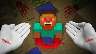 REALISTIC MINECRAFT - STEVE BECOMES A VAMPIRE