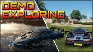 I´m Playing Forza Horizon 4!!   Exploring the Gamescom Demo & Testing the McLaren Senna