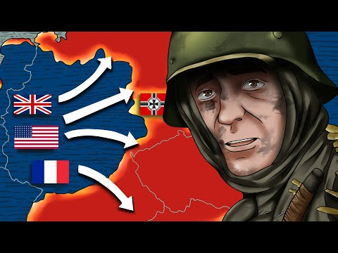 Downfall Of Germany: The Western Front (2/2) | Animated History