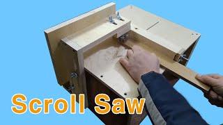 목공공구 DIY- 집에서 손으로 스크롤 톱 만드는 방법
