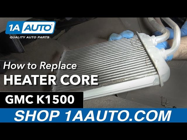 How To Replace Heater Core 91 98 GMC K1500 1A Auto