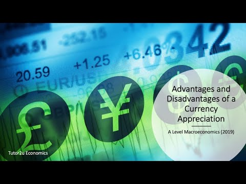 Advantages And Disadvantages Of A Currency Appreciation