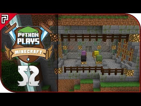 Welcome To Project Erebor!   Minecraft 1.11 PC   Python Plays Minecraft Survival [S2 - #52]