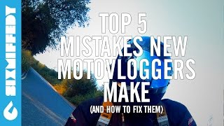 Top 5 Mistakes New Motovloggers Make (And How To Fix Them)