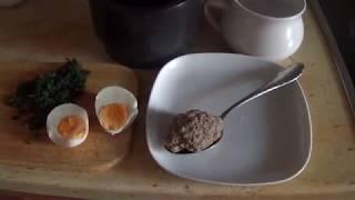 Австрийские супы. Часть 1. Суп с печеночной клецкой (Leberknödelsuppe)