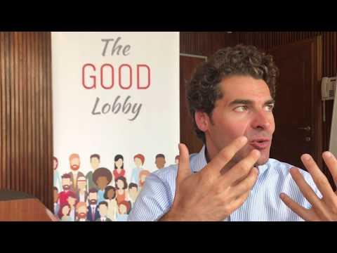 Alberto Alemanno spiega che cosa è The Good Lobby