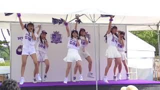 研修生はエディオンスタジアム広島で初めてのパフォーマンスでした。 米...