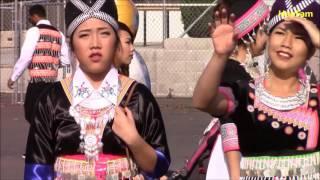 Sacramento Hmong New Year 2016 - 2017 - Nkauj Hmoob Zoo Nkauj Day 1