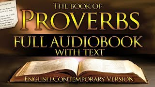 Holy Bible Audio: PROνERBS 1 to 31 - With Text (Contemporary English)