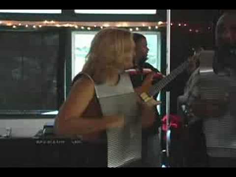 Zydeco Music - Debra on Rubboard