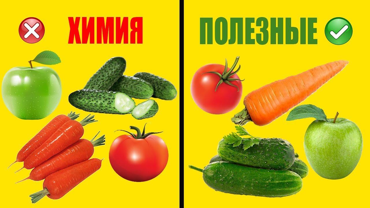 Как выбирать фрукты и овощи без нитратов и пестицидов. Советы