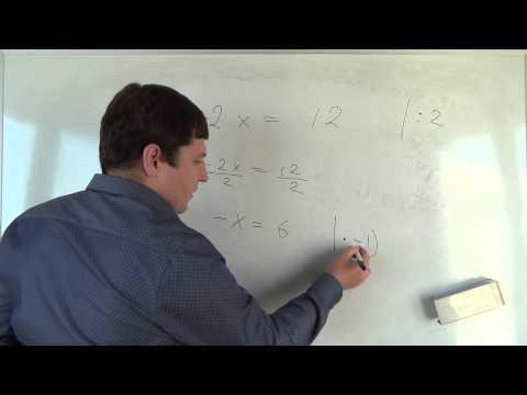 Как составить уравнение с одним неизвестным