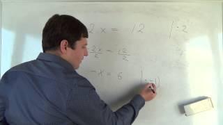 Алгебра 7 класс. 11 сентября. Решение линейных уравнений #1