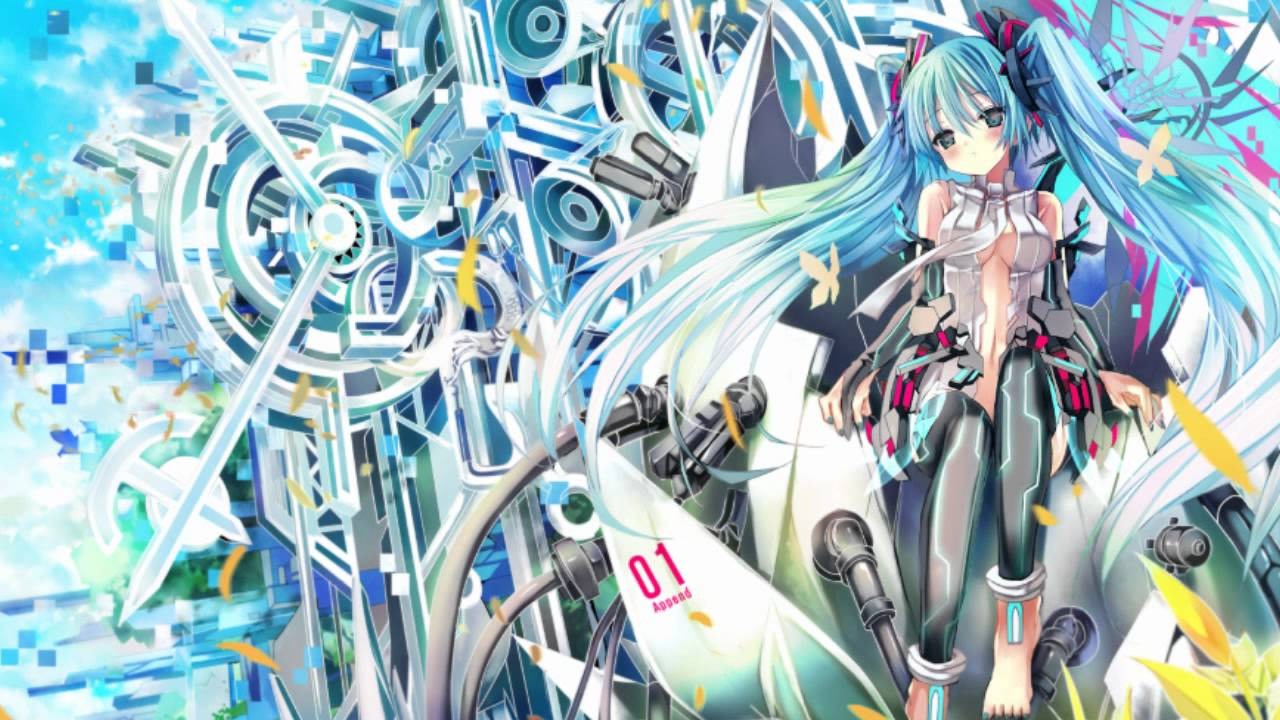 Hatsune Miku Wallpaper 3d Hatsune Miku Dark Append I Miss You Mp3 And Wallpaper