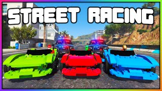 GTA 5 Roleplay - STREET RACING GONE WRONG | RedlineRP