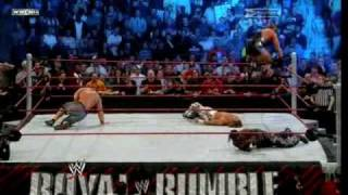WWE-Royal Rumble 2010 Highlights