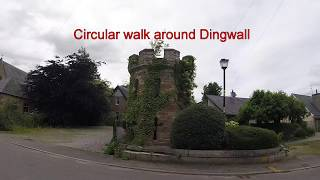 Rogie Falls, Strathpeffer and Dingwall - Westies Tour Scotland 2017 - Day 8