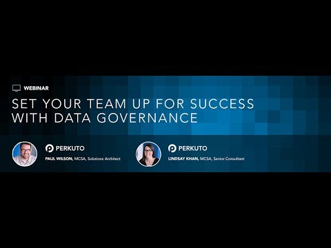 Webinar: Data Governance Model - What it is and Why You Need One
