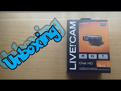 Unboxing: Creative Live! Cam Chat HD |Unboxing Y Test|