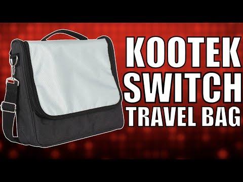 Kootek Travel Bag for Nintendo Switch   8-Bit Eric