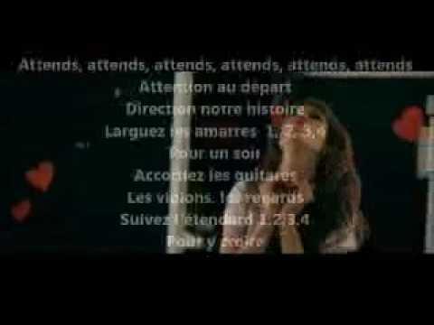 Les Enfoirés   Attention au Départ paroles  clip  lyrics