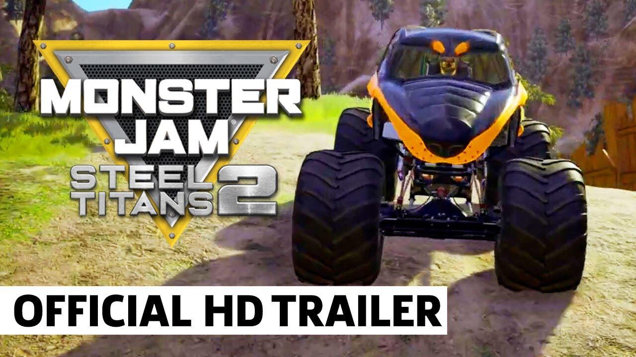 Monster Jam Steel Titans 2 - Release Trailer