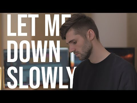 Let Me Down Slowly - Alec Benjamin (Cover By Ben Woodward)