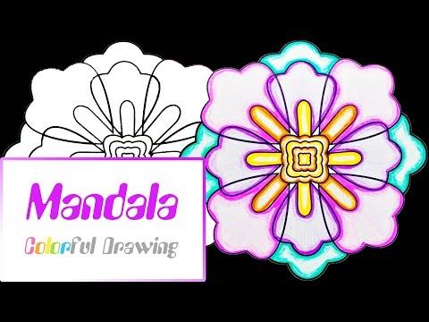 speed-coloring---coloriage-mandala-n°2-!