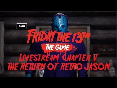 Friday The 13th The Game | Chapter 5 | PS4Pro Livestream Road to Platinum No Commentary