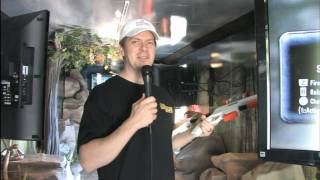 Classic Game Room - In-truck preview! CABELA