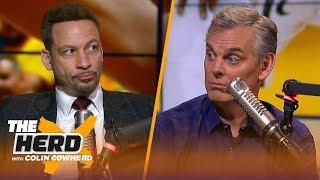 Harden & Chris Paul 'have to deliver' vs Warriors, talks 76ers-Raptors — Broussard   NBA   THE HERD