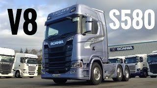 Download 2017 New SCANIA S580 V8 Truck - Full Tour & Test Drive - Stavros969 4K Mp3 and Videos
