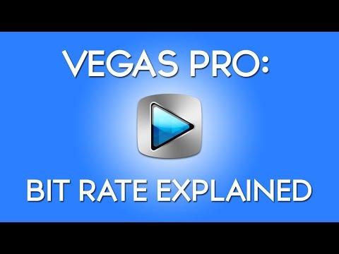 Sony Vegas: Bit Rate Explained CBR vs VBR
