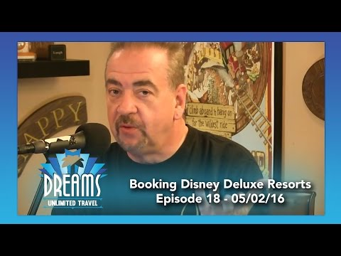 Booking Disney Deluxe Resorts | 05/02/16