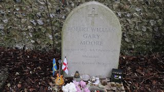 The Grave of Gary Moore
