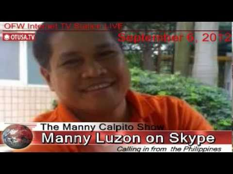 Manny Luzon Interview_ September 6, 2012_ The Manny Calpito Show