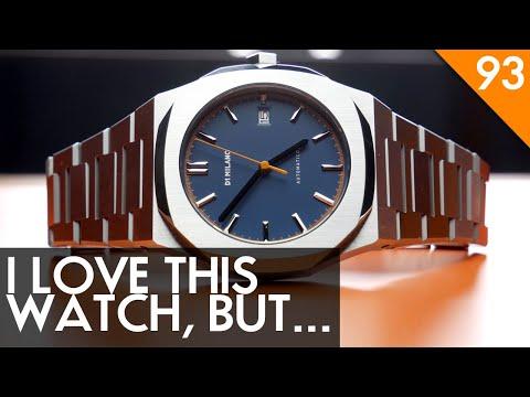 "D1 Milano ""Atlas"" Automatic - A Great Royal Oak Alternative - Watch Review"