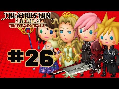 Theatrhythm Final Fantasy: Curtain Call - Walkthrough Part 26 Music Stage - Final Fantasy XIII-2