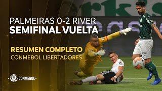 Libertadores | Palmeiras 0-2 River Plate | HIGHLIGHTS COMPLETO