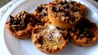 Gluten Free Pumpkin Muffin Cupcakes!