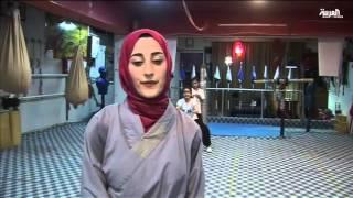 مركز في السُليمانية يُدَرب عراقيين على شاولين كونغ فو