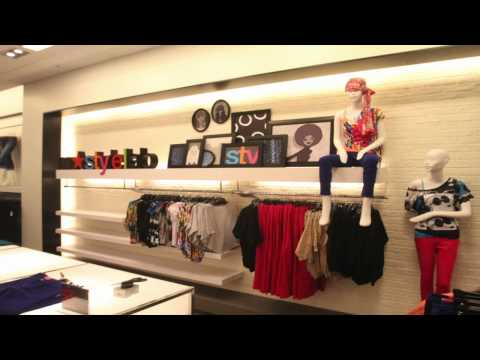 Tour of the new City Creek Macy's Department Store in Salt Lake City