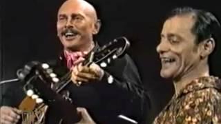 Юл Бриннер и Алеша Димитриевич   Две гитары  xvid