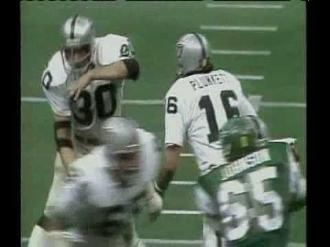 Raiders Eagles Branch Plunkett 1981