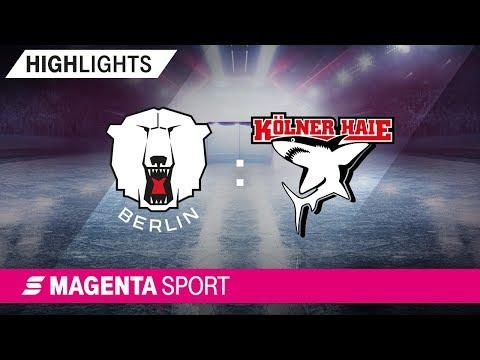 Eisbären Berlin - Kölner Haie | 3. Spieltag, 19/20 | MAGENTA SPORT