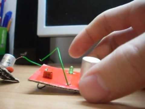 Cмотреть видео онлайн Стробоскоп (мигалка) своими руками